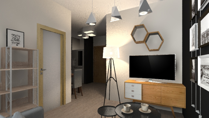 Fabryczna City_Living and Dining Room-35