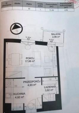 Romanowicza rzut mieszkania
